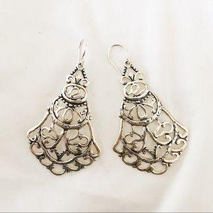 Silpada chandelier earrings sterling silver